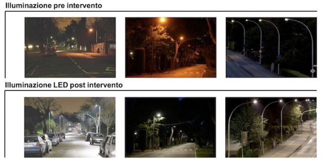 A Reggio Emilia migliaia di lampade a Led: presentato il ...